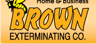 Brown Exterminating Logo